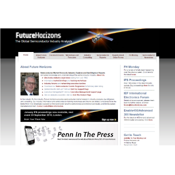 Future Horizons new site launches