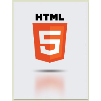 The HTML5 logo from a designer's perspective