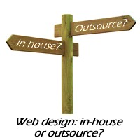 Web design & development: in-house or outsource?