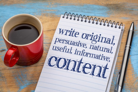 How to create great website content