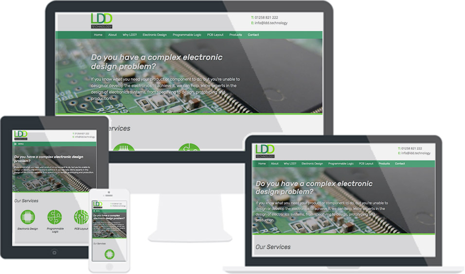 LDD Technology new website