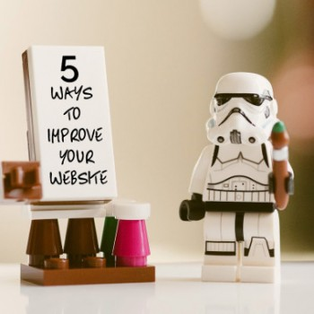 5 easy ways to improve your website today